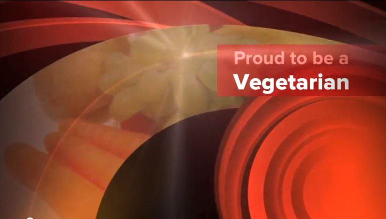 Snapshot of the movie Proud to be a vegetarian, by Sai Samara
