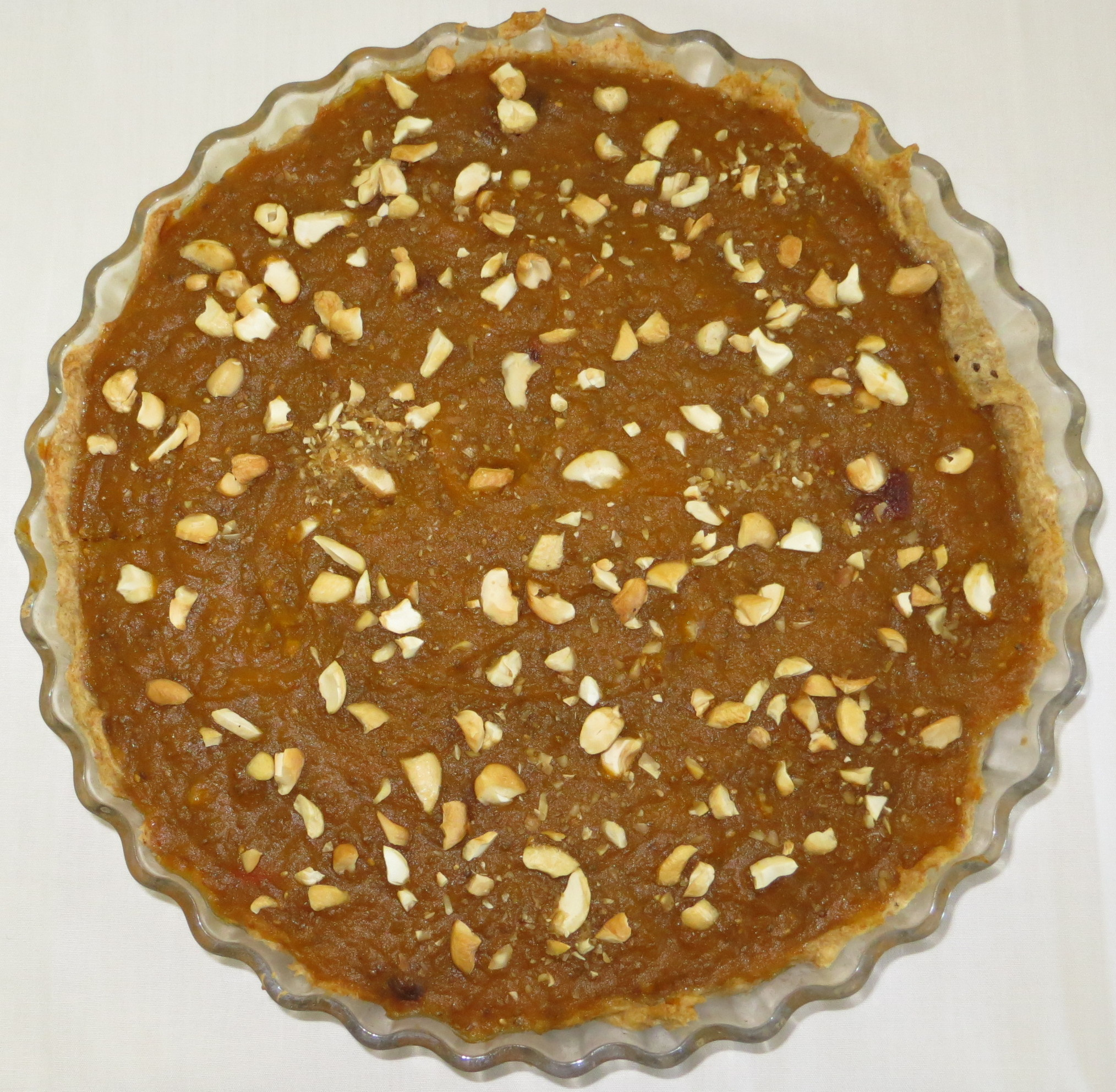 Pumpkin and Chia Pie