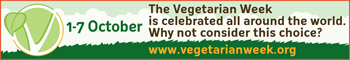 Veg week logo in a  banner