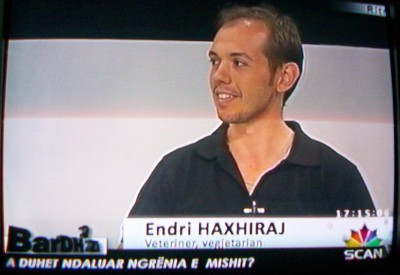 Endri Haxhiraj on TV